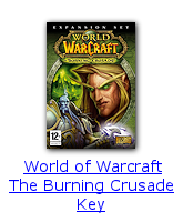 World of Warcraft The Burning Crusade Key