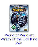 World of Warcraft Wrath of the Lich King Key